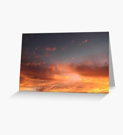 perth skies II Greeting Card