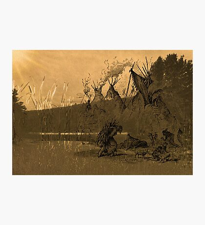 Morning on the River Photographic Print