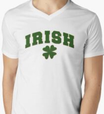 Irish Mens V-Neck T-Shirt