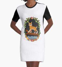 Lynx Graphic T-Shirt Dress
