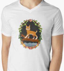 Lynx V-Neck T-Shirt