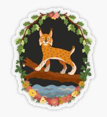 Lynx Transparent Sticker