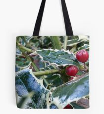 holly leaves Tote Bag