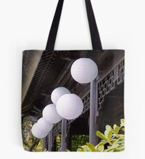 white paper lanterns Tote Bag