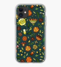 Evening meadow iPhone Case
