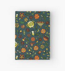 Evening meadow Hardcover Journal