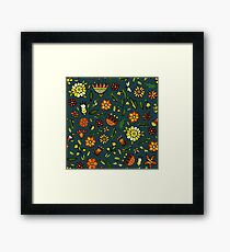 Evening meadow Framed Print
