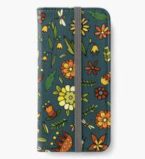 Evening meadow iPhone Wallet/Case/Skin