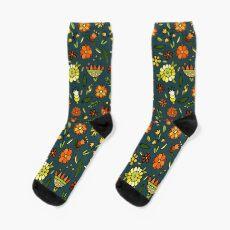 Evening meadow Sock