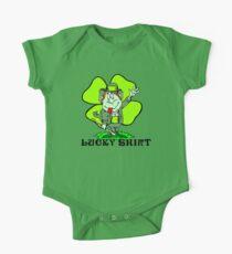 "Funny Irish ""Lucky Shirt"" One Piece - Short Sleeve"