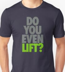 DO YOU EVEN LIFT? - Seahawks Edition T-Shirt