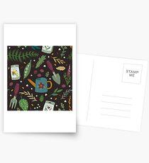 Garden tillage Postcards
