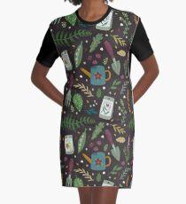 Garden tillage Graphic T-Shirt Dress