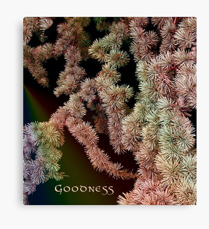 Goodness Canvas Print