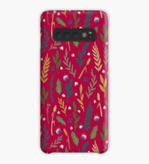 Pink field Case/Skin for Samsung Galaxy