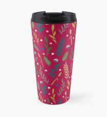 Pink field Travel Mug