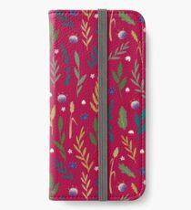 Pink field iPhone Wallet/Case/Skin