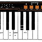 Synthesizer Love by Nathan Brenville