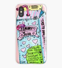 feminist juice iPhone Case
