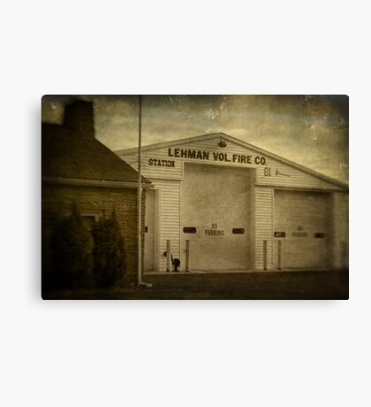 Lehman Vol. Fire Co. Canvas Print