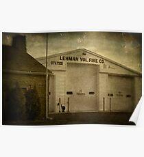Lehman Vol. Fire Co. Poster