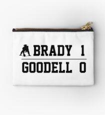 Brady vs. Goodell Zipper Pouch