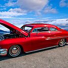 1949 Mercury, The Lady in Red by Bryan D. Spellman