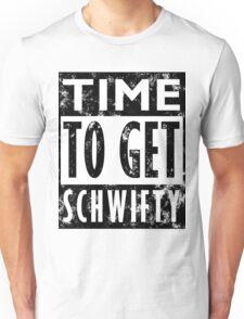 Rick and Morty Get Schwifty Lyrics Print Unisex T-Shirt