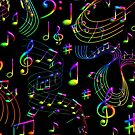 Music, Psychedelic by wimblettdesigns