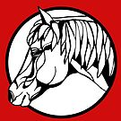 Sharpie Horses: Desi by mellierosetest