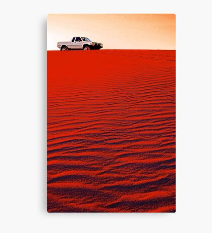Toyota Hilux  Canvas Print
