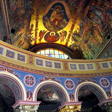 detail in orthodox cathedral sibiu by marianenache