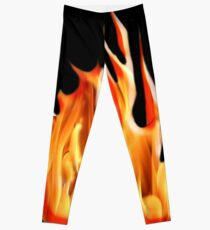 HELL FIRE, FIRE, BLAZE, BURN, IGNITE, FLAME, HEAT, LIGHT, WARMTH Leggings