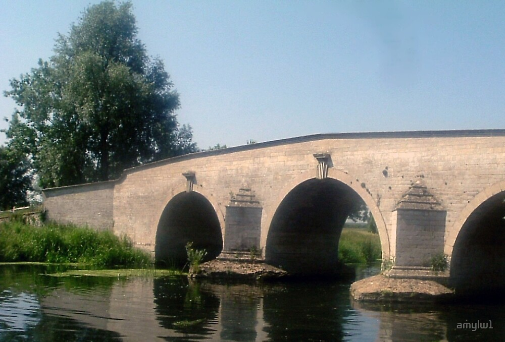 Milton Ferry Bridge by amylw1