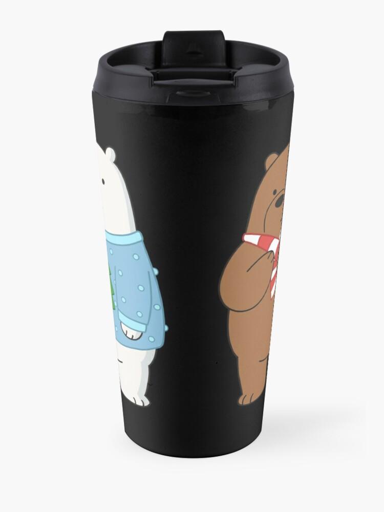Alternate view of We Bare Bears Travel Mug