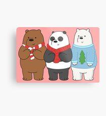 We Bare Bears Metal Print