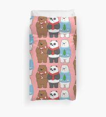 We Bare Bears Duvet Cover