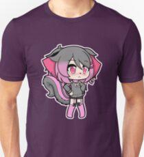 Chibi Gacha Chipmunk Girl Slim Fit T-Shirt