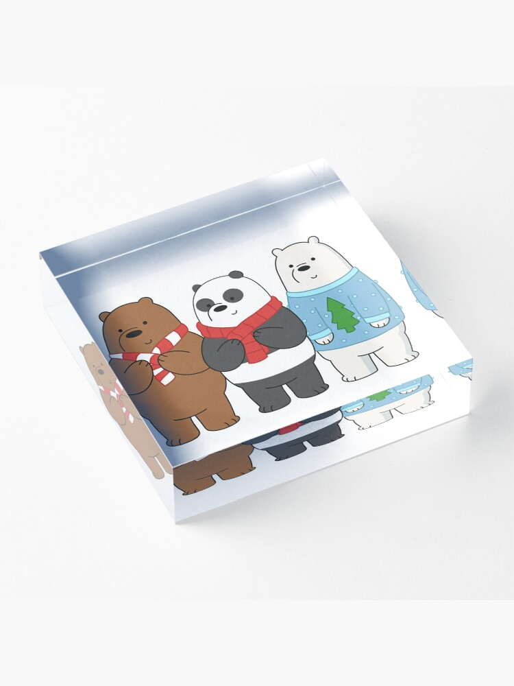 Alternate view of We Bare Bears Acrylic Block