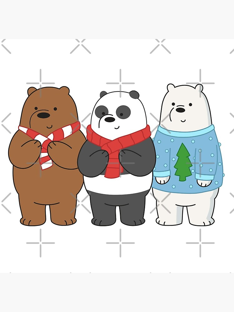 We Bare Bears by plushism