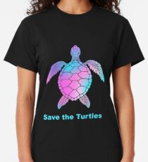 Save the Turtles Turtle vsco Classic T-Shirt