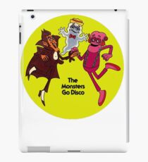 Saturday Morning Disco Dancing Cereal Monsters iPad Case/Skin