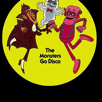 Saturday Morning Disco Dancing Cereal Monsters de astropop