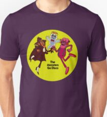 Saturday Morning Disco Dancing Cereal Monsters Unisex T-Shirt
