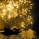2011 New Years Fireworks - Sydney Harbour by darkhorseaustralia