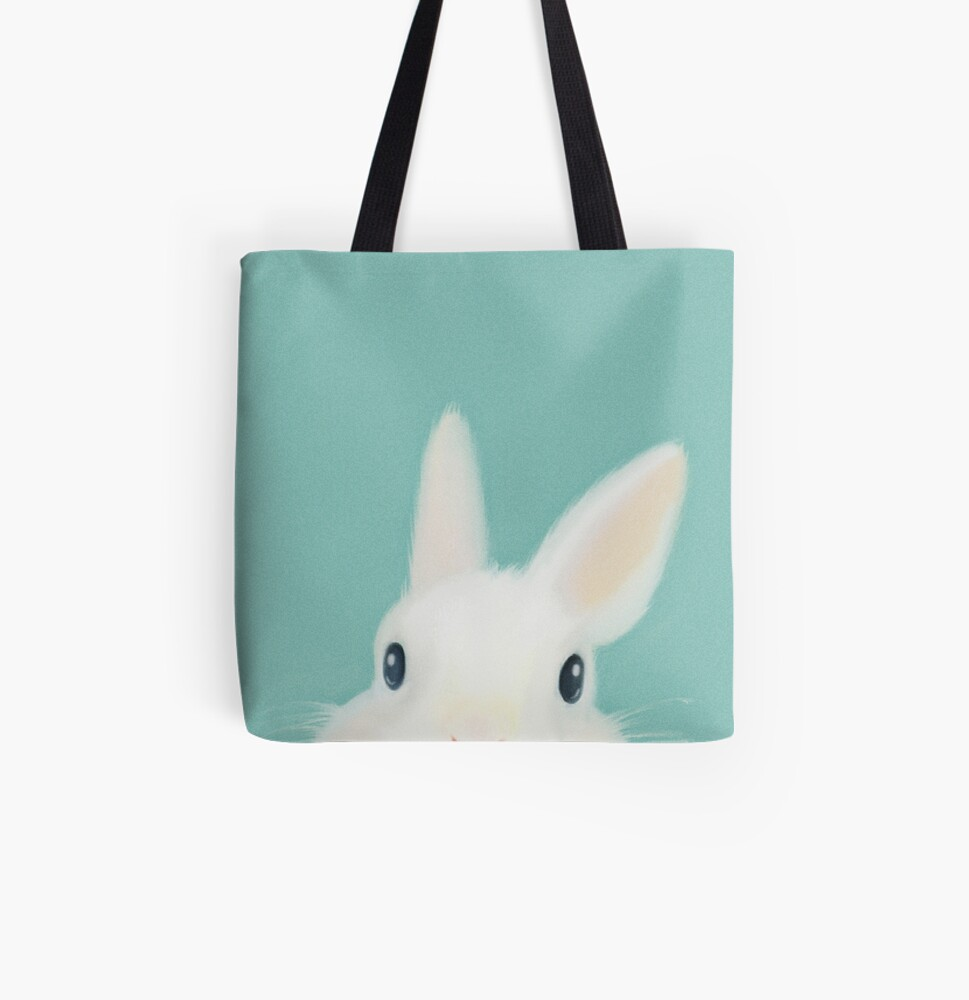 Emma the rabbit All Over Print Tote Bag