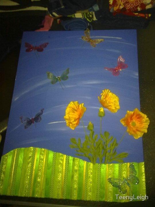 Bufferfly fields by TeenyLeigh