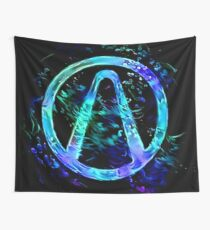 Black Light Vault Hunter Wall Tapestry
