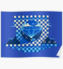 Chaos Emerald Poster