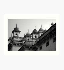 Chowmahalla Palace, Hyderabad Art Print